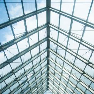 techo con steel frame