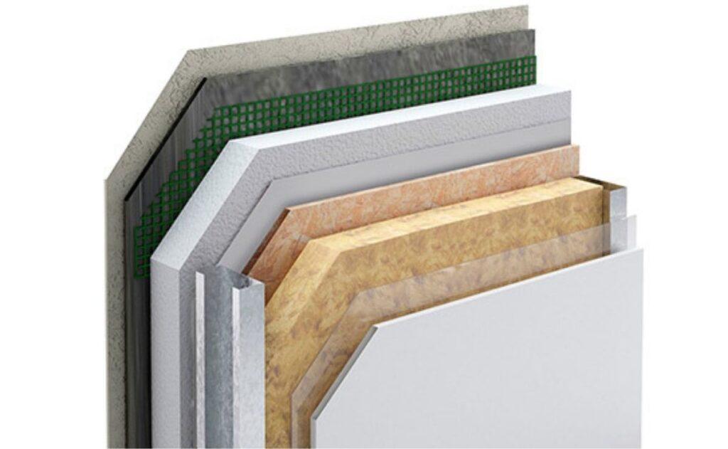 Capas de un panel de steel frame