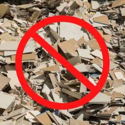 sin desperdicio de materiales