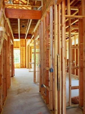 construcción con wood frame