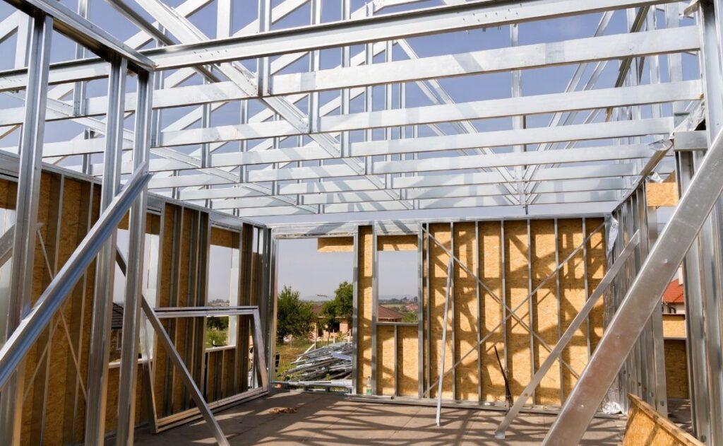 construcción de steel frame