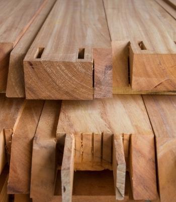 perfiles de madera utilizados en wood frame